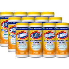 CLOROX DISINFECTING WET WIPES – LEMON SCENT
